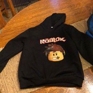 Shirts Tops Kids Roblox Hoodie Poshmark